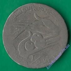1/2 динара 1988 года Тунис