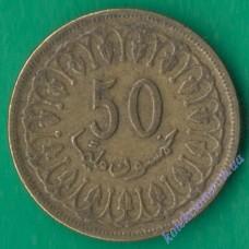 50 миллим 1983 года Тунис
