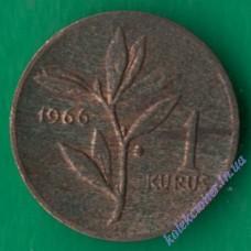 1 куруш 1966 року Туреччина