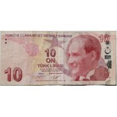 10 лир 2009 года Турция