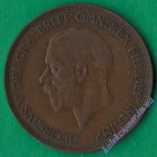 1 пенни 1936 года Великобритания