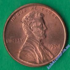 1 цент 1994 года D США