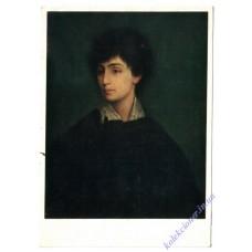 Мауріци Готтліб. Жіночий портрет